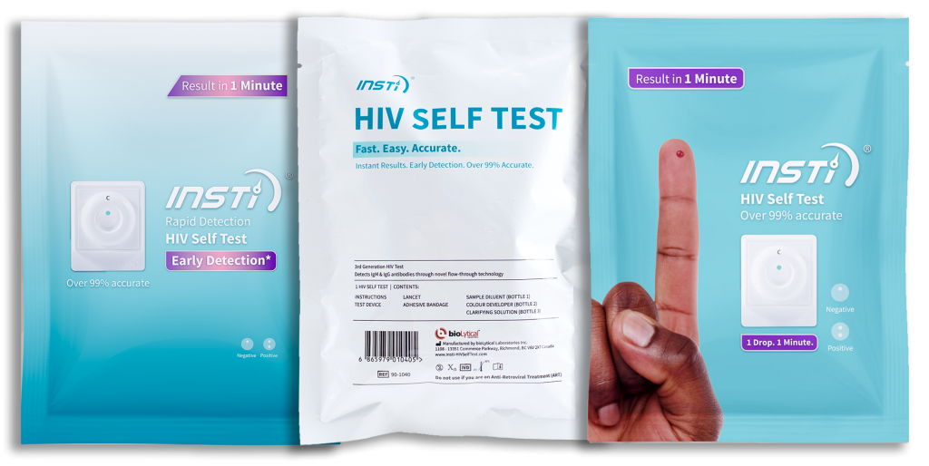 INSTI HIV Self Test (Pouch) | bioLytical Laboratories
