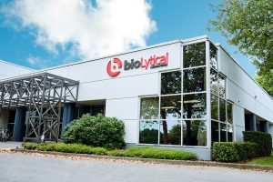 bioLytical's state-of-the-art manufacturing facility located in Richmond, British Columbia